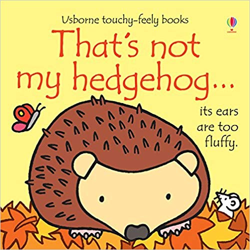 thats  not my hedgehog Autumn childrens books to share with your family