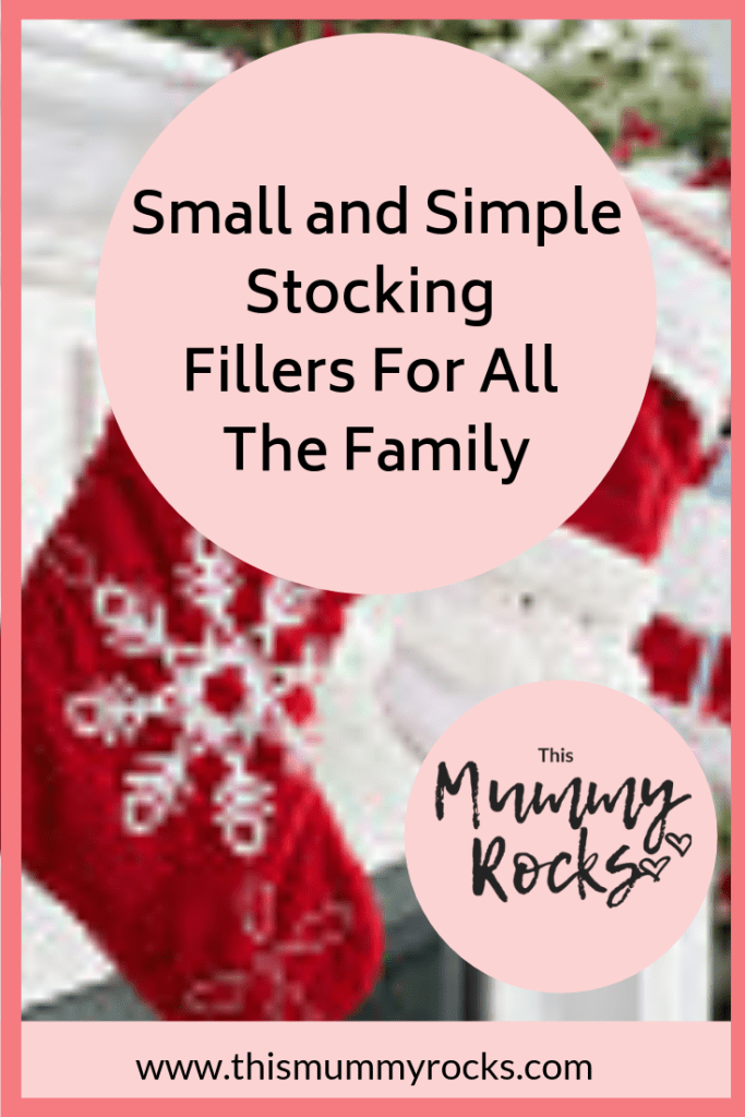 Small and Simple Stocking Fillers For All The Family