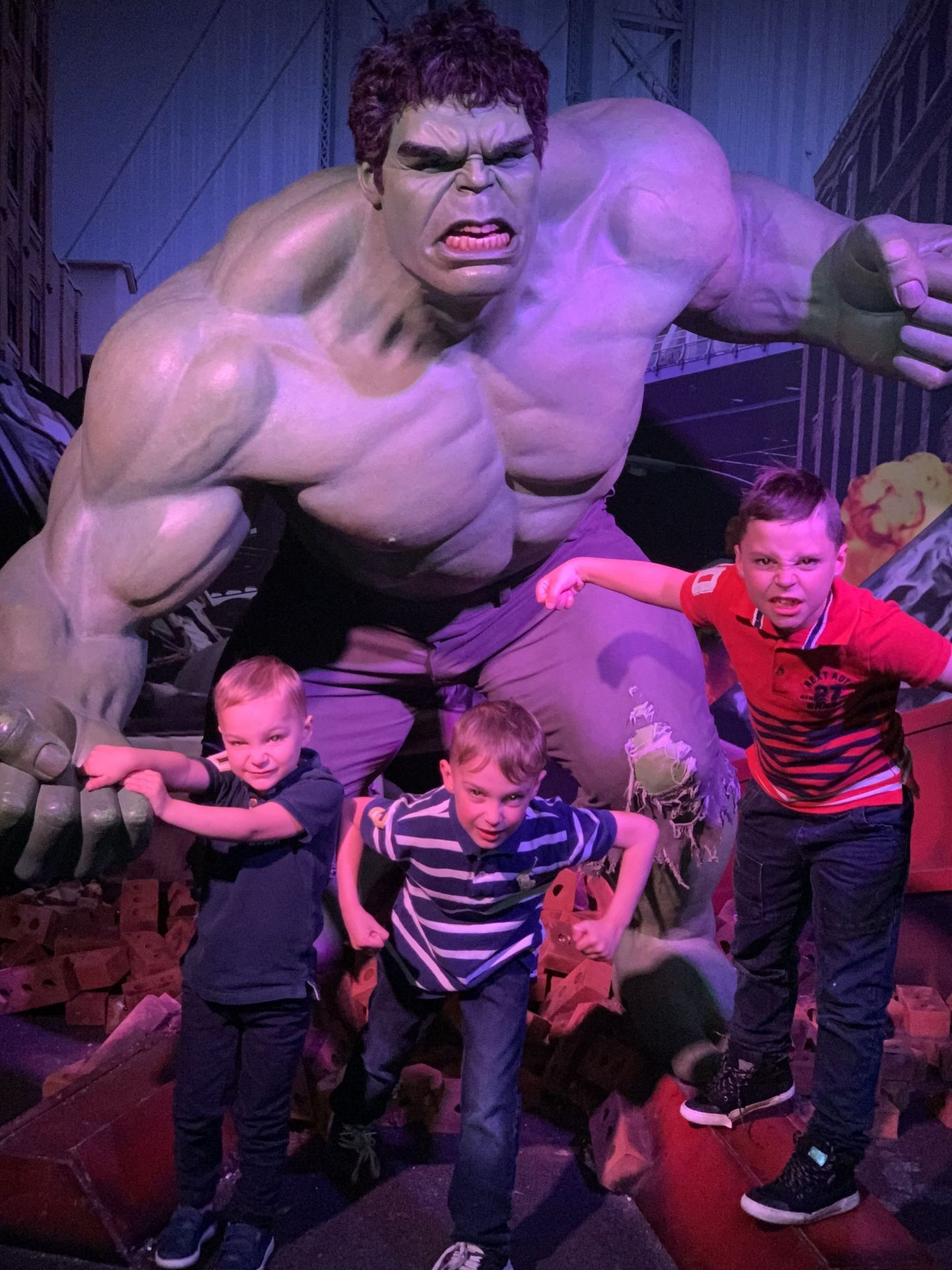 madame tussauds marvel super heroes hulk