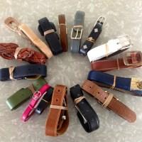 Op Shop Finds: Leather Belts for Emma Makes