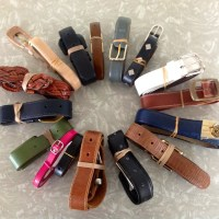 Op Shop Finds: Leather Belts for Emma Makes