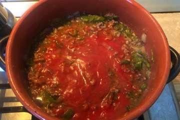 ricetta chili con carne macinata
