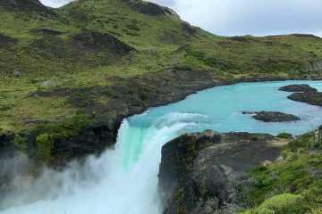Mirador del salto grande cascata