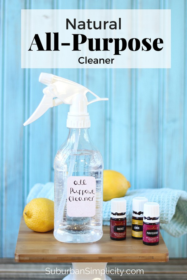Skip the unknown fragrances in cleaning products and use these DIY cleaning products scented with essential oils. Good for your house and good for your family.