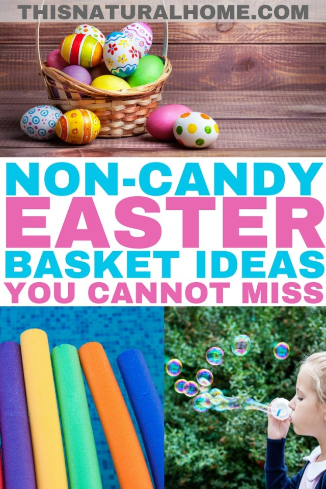 Moms and kids won't miss the candy at all in these non-candy Easter baskets. They are even themed so all of the hard work has been done for you!