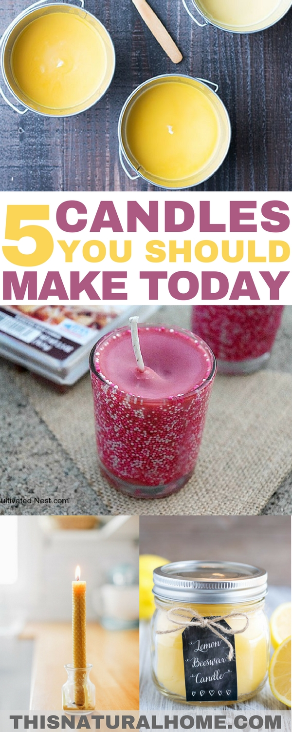 No thank you Bath & Body Works, Scentsy & Yankee Candles, we'll just make our own. Find out how easy it can be to make your own candles!