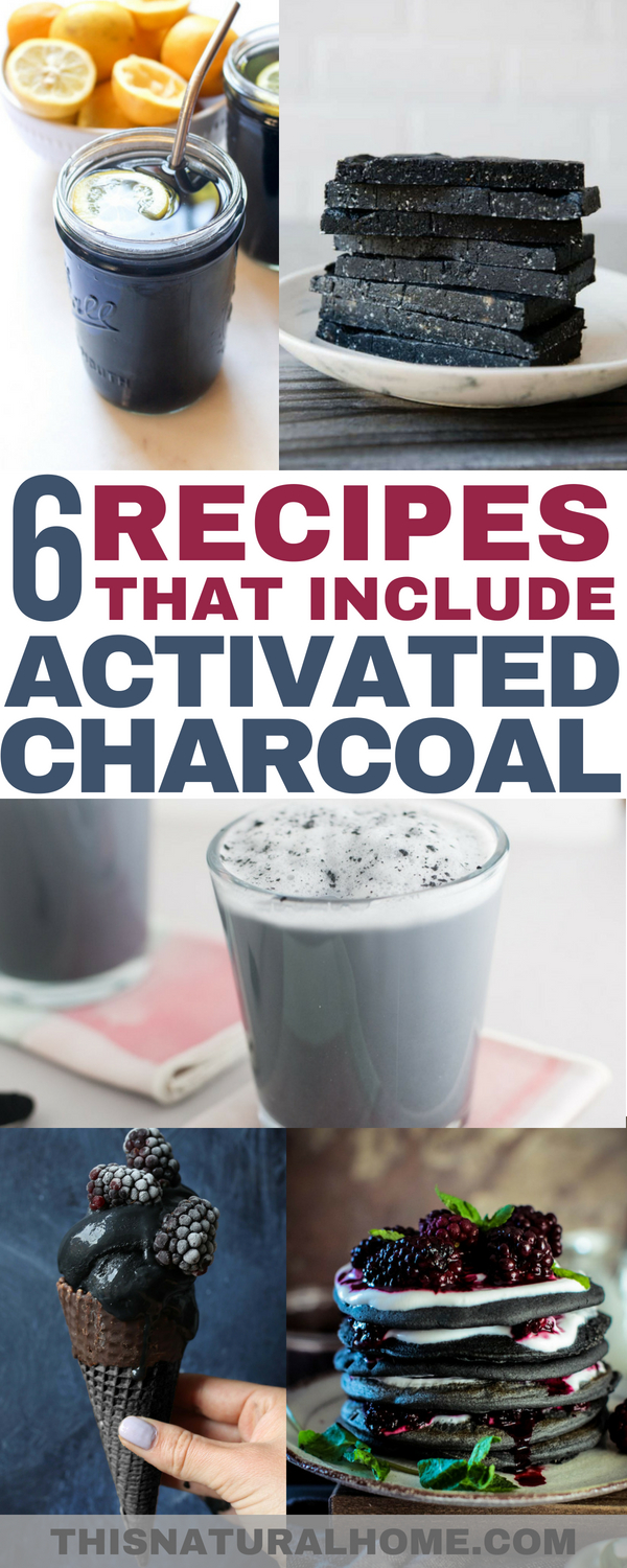 Activated charcoal has amazing health benefits. So adding it to your recipes seems like a no brainer!