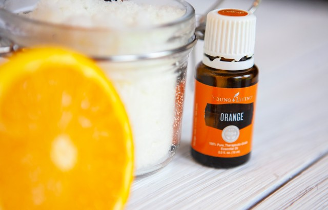 Your skin is going to love you after you use this amazing orange essential oil sugar scrub! Smooth skin has never been so easy!