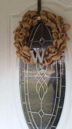 w wreath