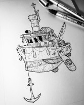 Trawler inks finished.