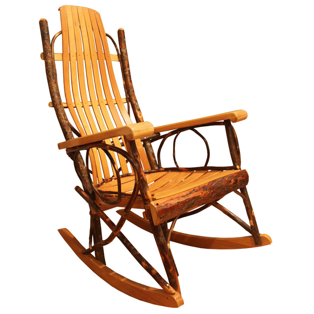 Amish Rocking Chair Amish Rocker This Oak House Handcrafted Furniture London Ontario