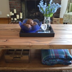 Diy Living Room Table Decor Contemporary Wall Units For Coffee This Old Colonial Home And