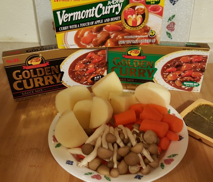 Golden Curry and Veggies