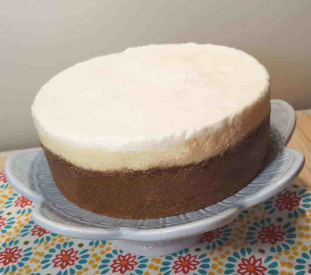 Pressure Cooker Lindy's New York Cheesecake