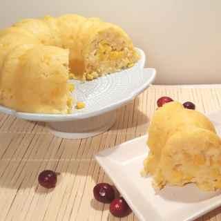 Holiday Creamy Corny Cornbread Casserole