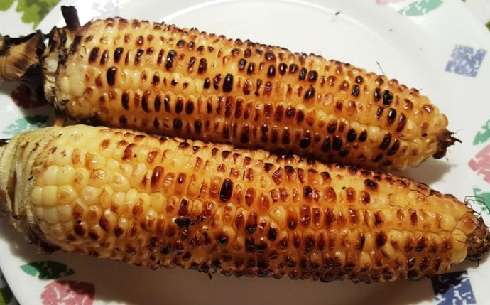 Remove Corn from Grill