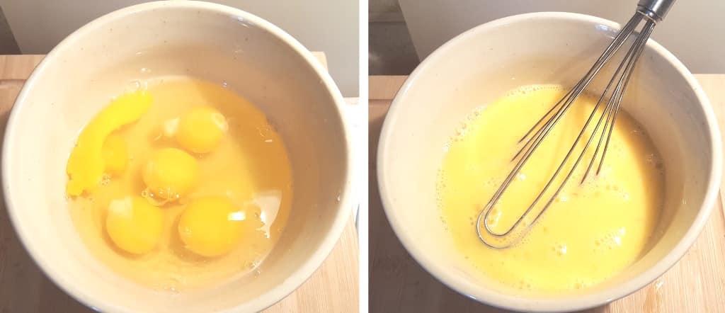 Crack the Eggs into a Bowl