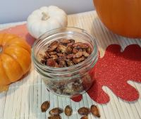Air Fryer Toasted Cinnamon Sugar Pumpkin Seeds