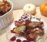 Christmas Morning Pressure Cooker Orange Cranberry French Toast