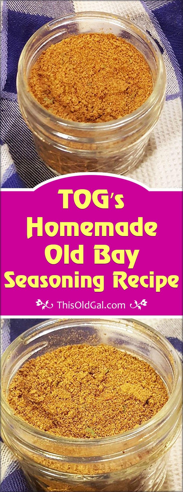 TOG's Homemade Old Bay Seasoning Recipe