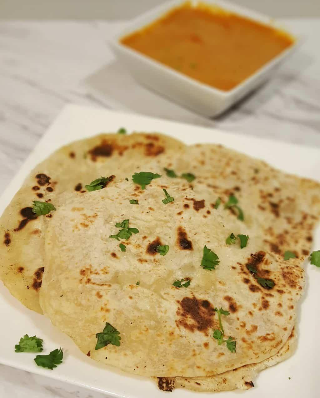 Yogurt Whey Indian Chapati {Unleavened Flatbread}