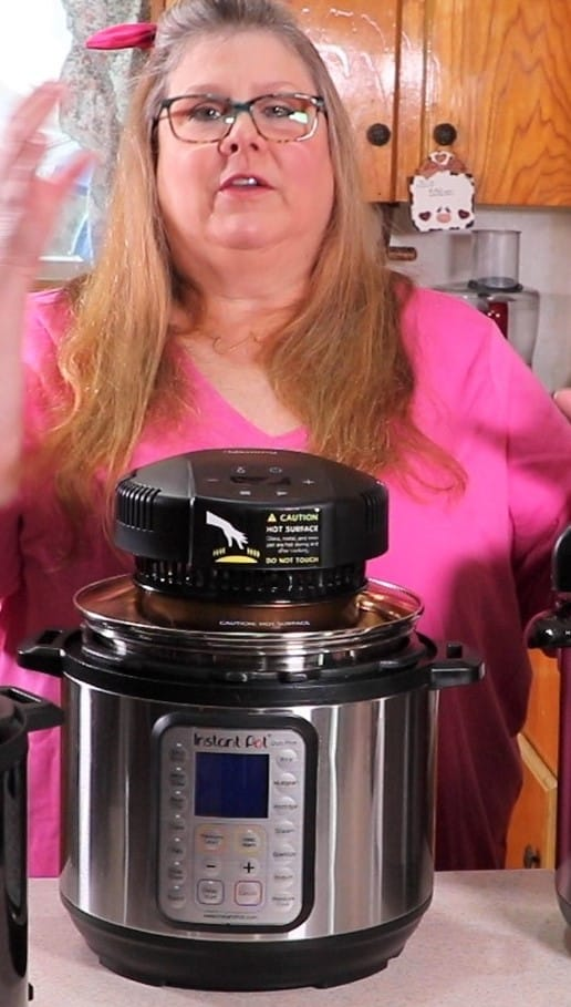 Use Mealthy Crisplid to Caramelize!