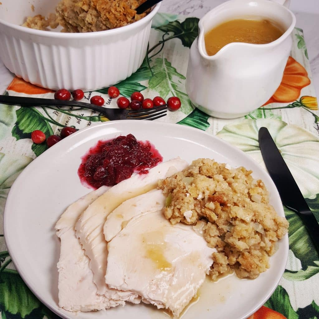 Instant Pot Turkey Breast and Gravy