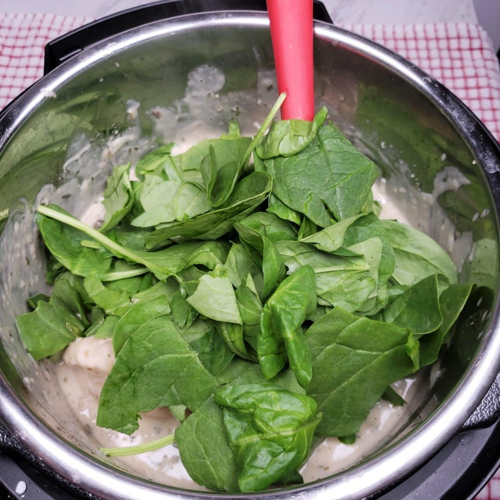 Add as much Spinach as you like
