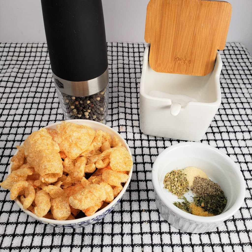 Cast of Ingredients for All Purpose Low Carb Breading