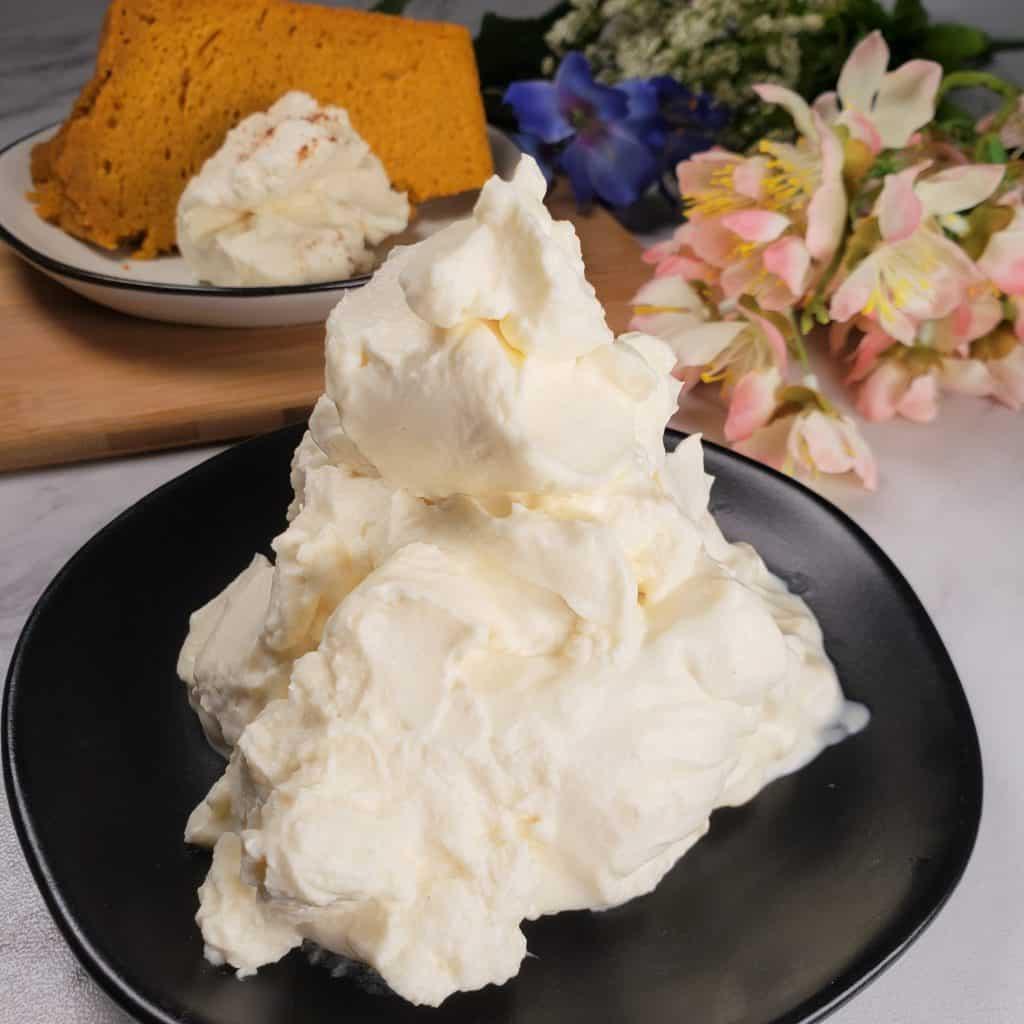 Homemade Butterscotch Whipped Cream