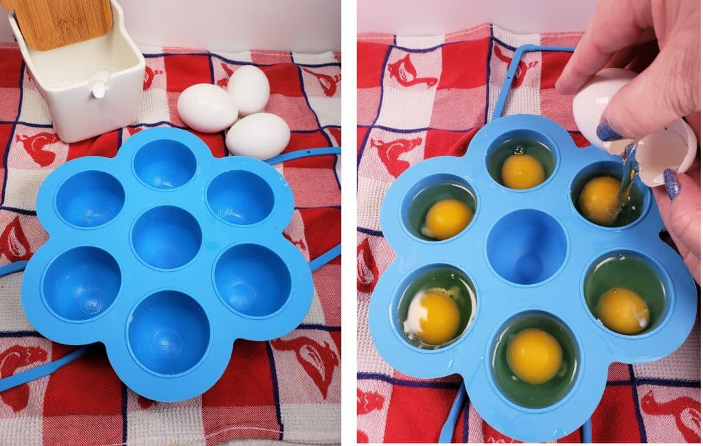 Silicone Egg Bites Mold is Perfect for Poached Eggs