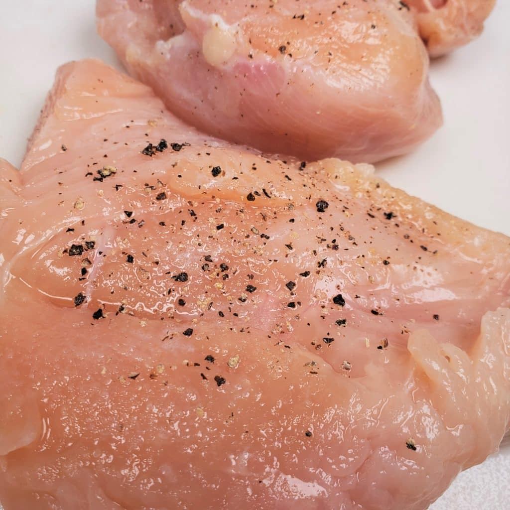 Salt and Pepper Chicken Breasts