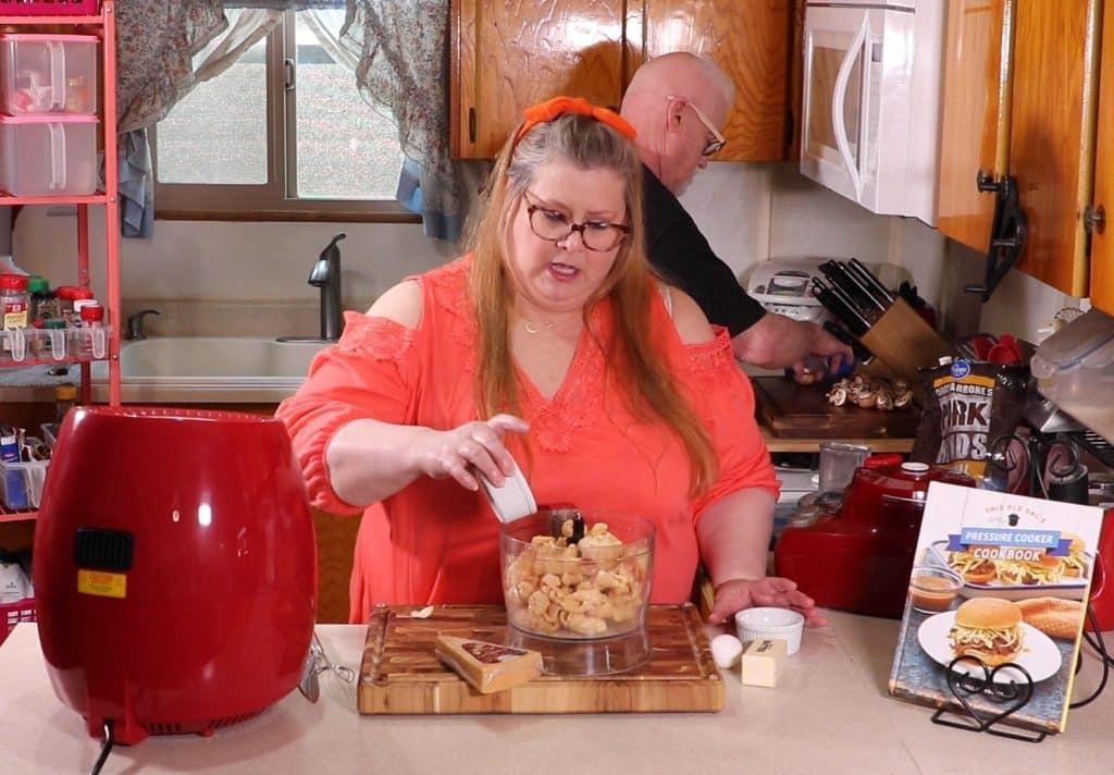 Add Seasonings to Food Processor