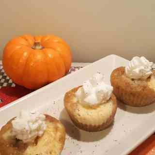 Instant Pot Pumpkin Cheesecake Muffin Bites