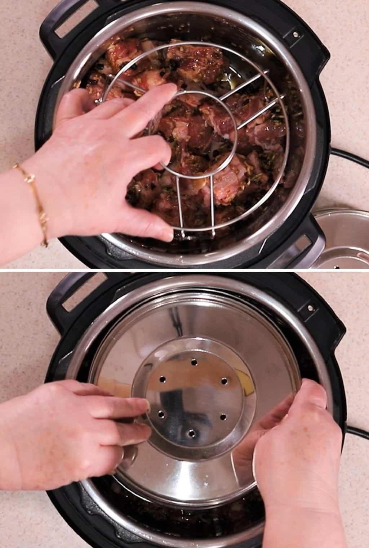 Make White Rice Pot In Pot