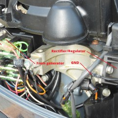 Mercury Outboard Power Trim Wiring Diagram For Dayton Electric Motor Upgrade Your To Charge Battery – The $tingy Sailor