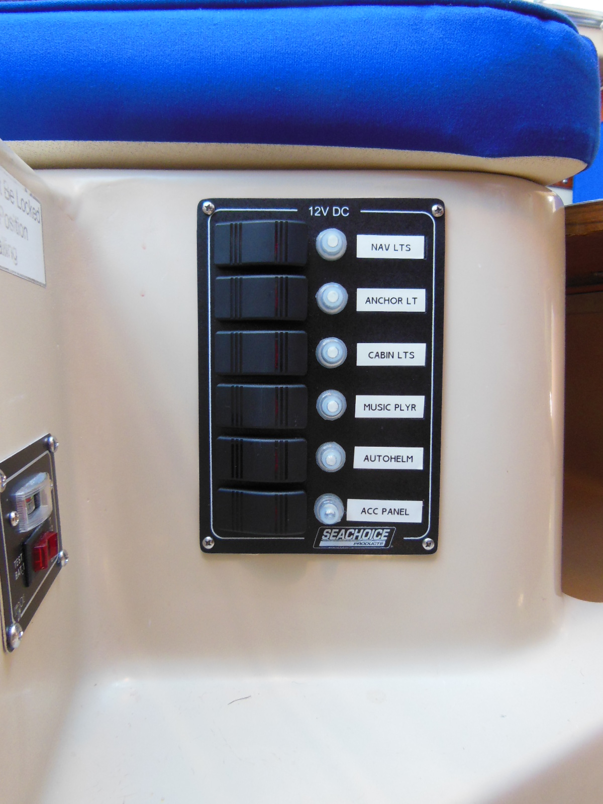 hight resolution of after new panel and battery test meter how to completely rewire your sailboat the