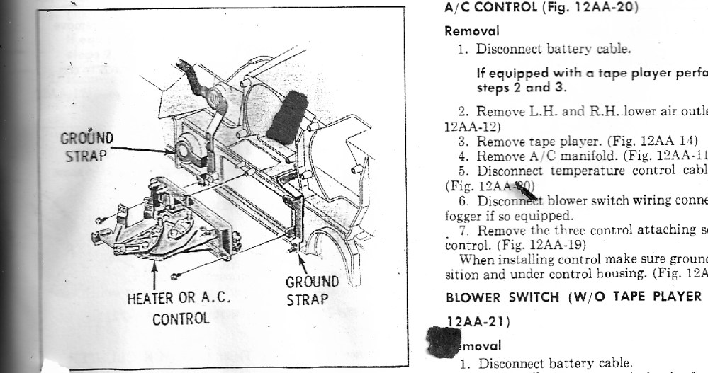 medium resolution of removing the dashboard from a 1970 cutlass supreme convertible part 1970 oldsmobile vacuum diagram