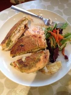 my wonderful panini : Chicken pesto, sun dried tomato, and mozzarella