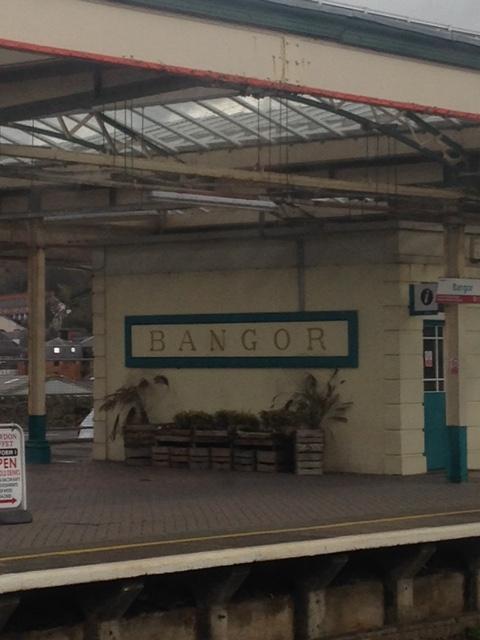 pretty little Bangor Station