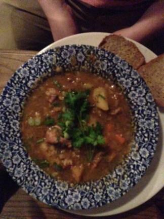 John's second lamb stew