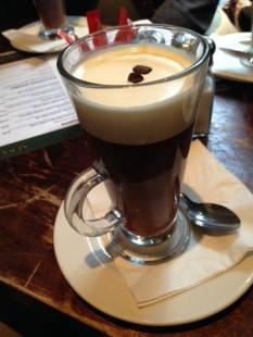 Scottish Coffee at The Albanach