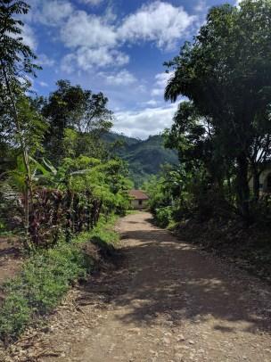 The hike to Semuc Champey