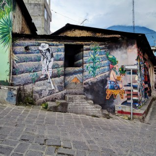 Street art in San Pedro