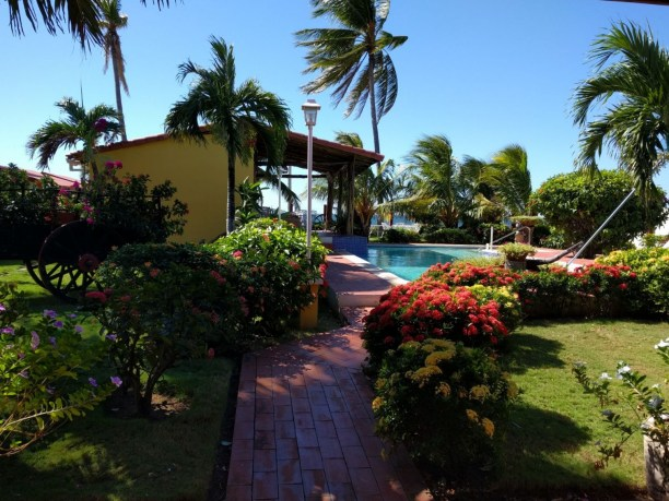 View of the pool in Sihuapilapa