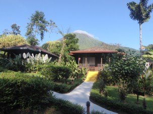 Our cabin at Lomas Del Volcan