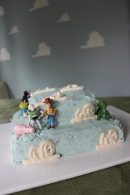 The Chocolate cake with cloud icing