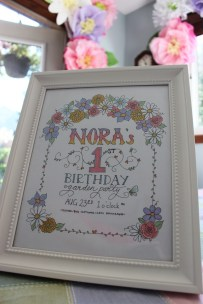 A perfect summer day for a garden party. Custom invitation by swooshcreations.wordpress.com
