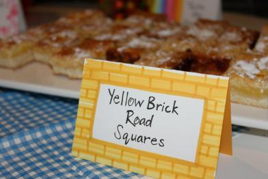 Yellow Brick Road (Lemon Squares).