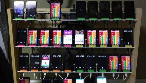 Phone Farm